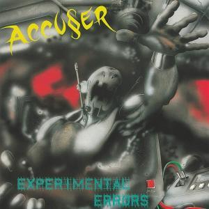 ACCUSER - EXPERIMENTAL ERRORS (LTD EDITION 100 COPIES, GREEN VINYL, +3 BONUS TRACKS) LP (NEW)