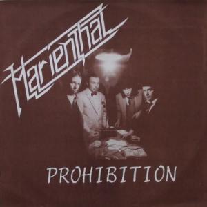 MARIENTHAL - PROHIBITION (LTD EDITION 350 COPIES + 4 BONUS TRACKS) LP (NEW)