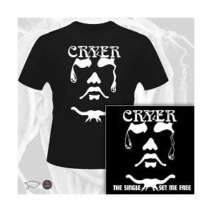 CRYER - THE SINGLE/SET ME FREE (LTD EDITION 100 COPIES + T-SHIRT) CD/T-SHIRT SIZE: L (NEW)