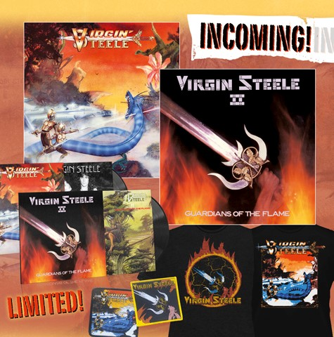 Virgin Steele's early albums to be reissued by No Remorse Records